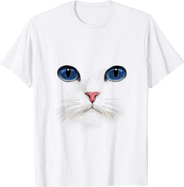 Ragdoll Cat-Blue Eyes Tee Shirt