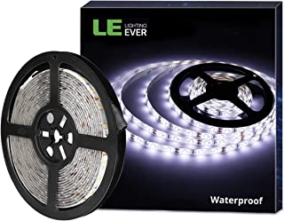 LE 12V LED Strip Light, Flexible, Waterproof, SMD 2835, 16.4ft Tape Light for Christmas,..