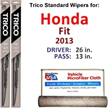 Best honda fit 2013 windshield wipers Reviews