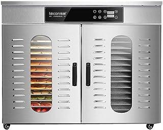 Carl Artbay un déshydrateur Séchoir pour Aliments, Corps en Acier Inoxydable à température réglable de 30 à 90 ° C et régl...