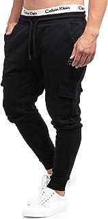 Indicode Pantalones de chándal Bendner de 60 % algodón, corte regular, pantalones de entrenamiento, pantalones de deporte,...