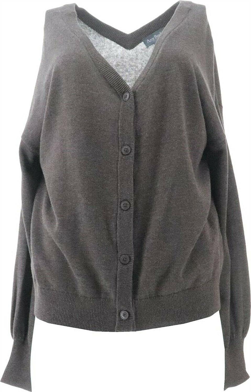 AnyBody SeaWool Sweater Cardigan A384318