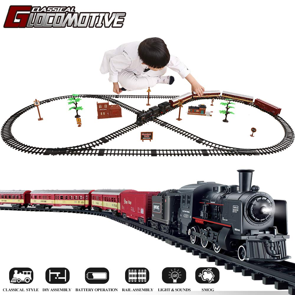 TEMI Electronic Railway Locomotive Operated