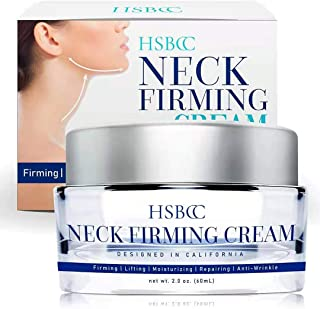HSBCC Neck Firming Cream with Peptides, Neck Cream, Neck Moisturizer Cream, Anti Wrinkle Anti Aging Neck Firming Cream, Ad...