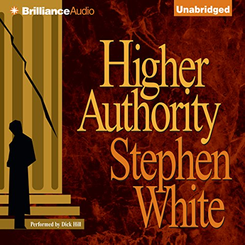 Higher Authority audiobook cover art