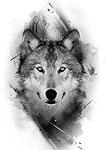 Houten Legpuzzels 1000 Stuks voor Volwassenen en Kinderen Wolf Animal Arts Entertainment Speelgoed Educatief Gift Moderne ...