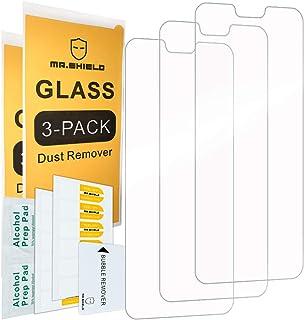 [3-PACK]- Mr.Shield For Nokia (6.1 Plus) [زجاج مقسى] واقي شاشة [زجاج ياباني ذو صلابة 9H] مع استبدال مدى الحياة