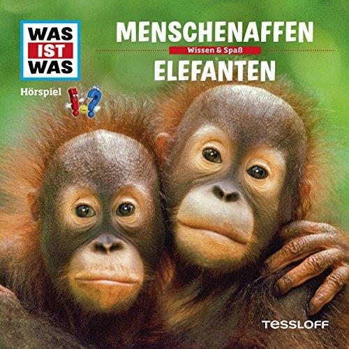 Menschenaffen / Elefanten (Was ist Was 33) Titelbild