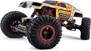 REMO HOBBY 1:10 Scale Electric 4WD 2.4GHZ RC Off-Road Brush Crawlers Front Wheels Steering (Model NO.1071)