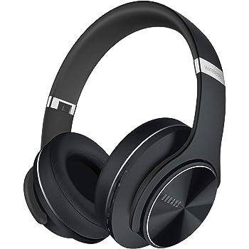DOQAUS Bluetooth Kopfhörer Over Ear, [Bis zu 52 Std] Kopfhörer Kabellos mit 3 EQ-Modi, Dual 40mm Treiber, Memory-Protein Ohrpolster und Integriertem Mikrofon für Smartphone/PC/TV (Verbesserte)