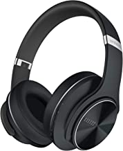 DOQAUS Bluetooth Over The Ear Headphones, [52 Hrs Playtime] Wireless Headphones, 3 EQ Modes, Foldable Hi-Fi Stereo Bass He...