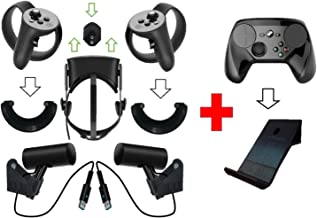 Oculus Rift Wall Mount / Bracket Set: Sensor, Touch, Headset Black