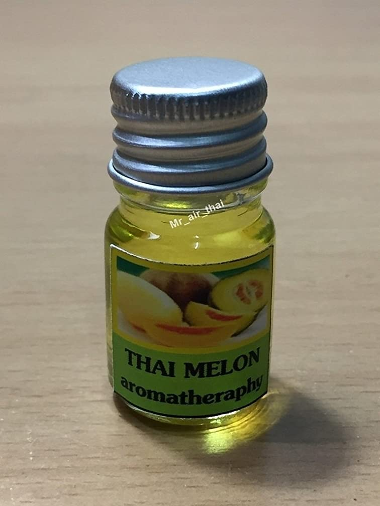 クラブ群集浮く5ミリリットルアロマタイメロンフランクインセンスエッセンシャルオイルボトルアロマテラピーオイル自然自然5ml Aroma Thai Melon Frankincense Essential Oil Bottles Aromatherapy Oils natural nature
