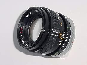 Canon 50mm F1.4 S.S.C. FD Mount Manual Focus Lens