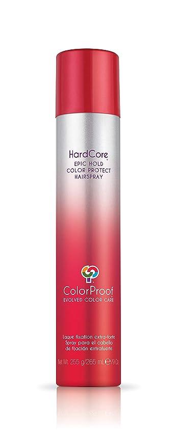 委員会急速なあごColorProof Evolved Color Care ColorProof色ケア当局ハードコアエピックカラーは、ヘアスプレーを守るホールド、9オズ オレンジ