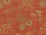 Landhaus Möbelstoff Ellmau Farbe 40 (rot-braun, terra) mit