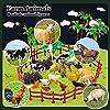 TOEY PLAY 3 in 1 Mini Animali Giocattolo con Dinosauri Giungla Fattoria per Bambini Plastica Figure Animali Set Giochi Educativi Regalo Bambino 3 4 5 Anni #3