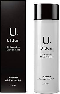 Uldan 化粧水 メンズ オールインワン アフターシェーブローション スキンケア 化粧水/美容液/乳液/保湿 1本5役 150ml 爽やかな香り