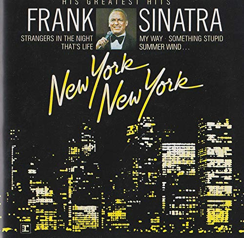 Songs from the City that never sleeps (CD Album Frank Sinatra, 16 Tracks)