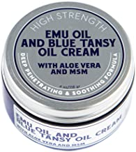 Emu Oil, Blue Tansy Oil, Aloe and MSM Extra Strength Cream
