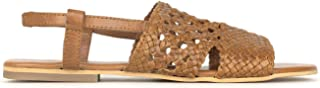 BETTS REAL LEATHER Jasper Womens Leather Tan 10