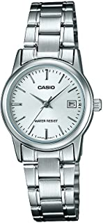 CASIO Watch LTP-V002D-7AUDF for Women (Analog, Casual Watch)