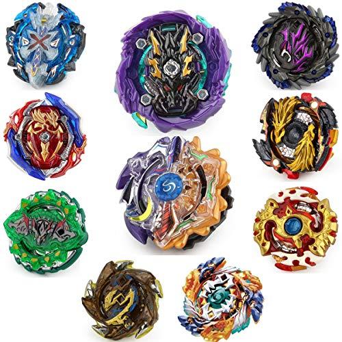 Gyros 10 Pack Toys for Kids,Battle Burst Gyro Evolution Metal Fusion Attack Top Set, School Gift Idea Toys for Boys Kids Children Age 8+