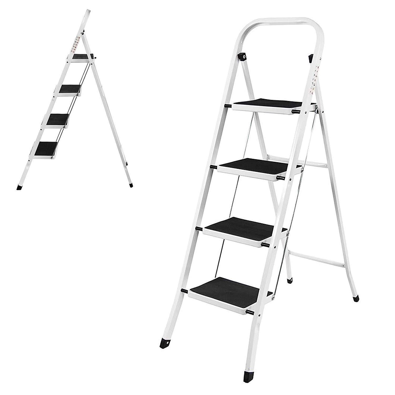 Dicn 5M 16.5ft Un bastidor telescópico plegable escalera de aluminio extensible extensión plegable portátil Pasos escaleras de interior al aire libre 330lbs Capacidad de carga dljyy: Amazon.es: Bricolaje y herramientas