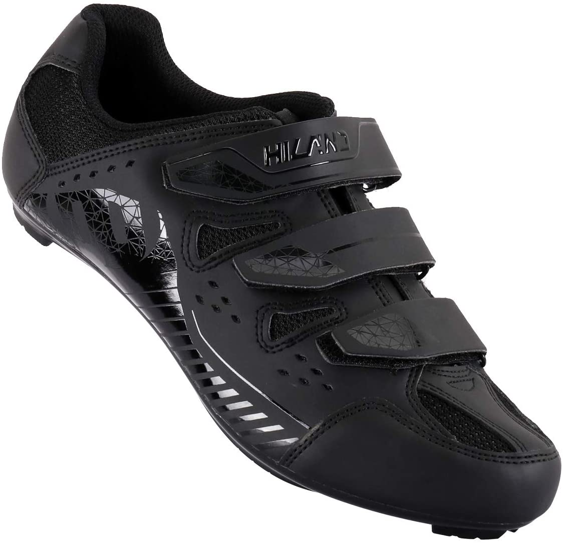 Hiland Road Bike Cycling Shoes Bic Cleated Lock Philadelphia Mall All items free shipping Pedal