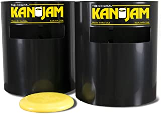 KanJam Portable Disc Slam Outdoor Game - Features Durable, Weather Resistant Material - Includes 2 KanJam Targets and 1 Flying Disc; Multiple Styles Available