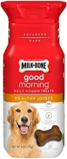 Milk-Bone Good Morning Daily Vitamin Dog Treats - Healthy Joints - 6 oz