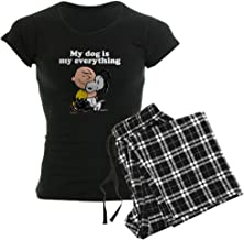CafePress Charlie Brown: My Dog is My Women's PJs