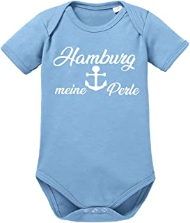 clothinx Hamburg, Meine Perle, Lustiges Fussballmotiv Baby Body Bio