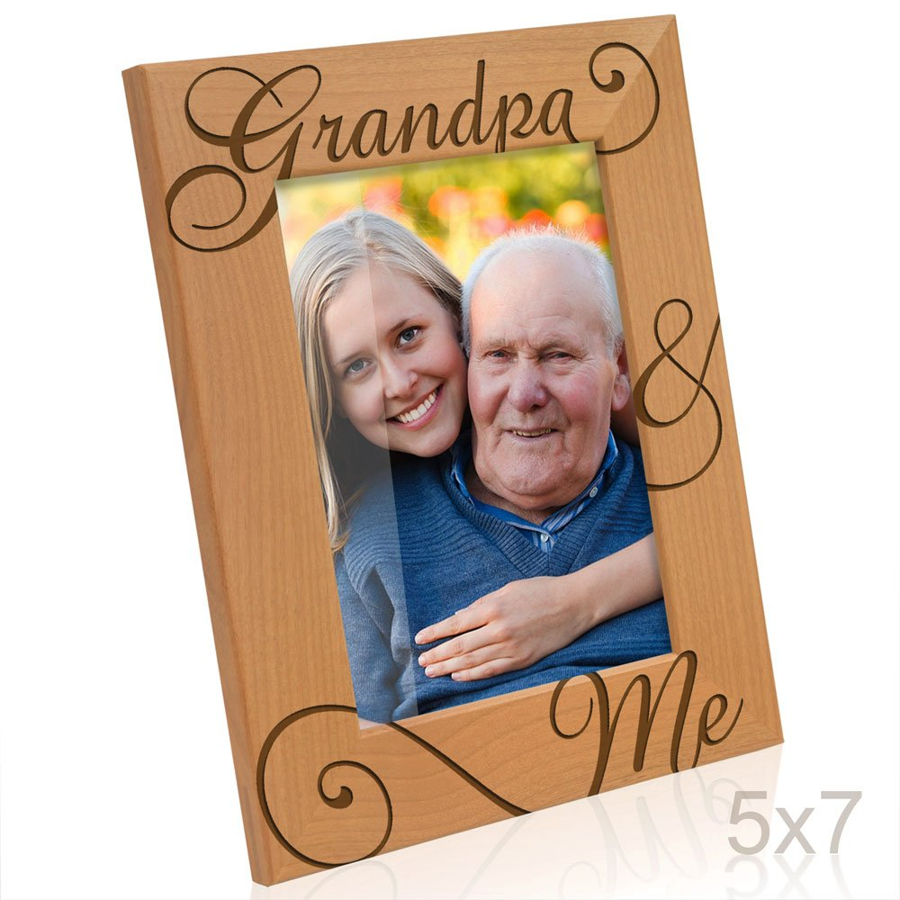 Kate Posh Grandpa and Me Engraved Natural Wood Picture Frame I Love You Grandpa  sc 1 st  Amazon.com & Christmas Gifts for Grandfathers: Amazon.com