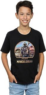 Star Wars Niños The Mandalorian Mando and The Child Camiseta