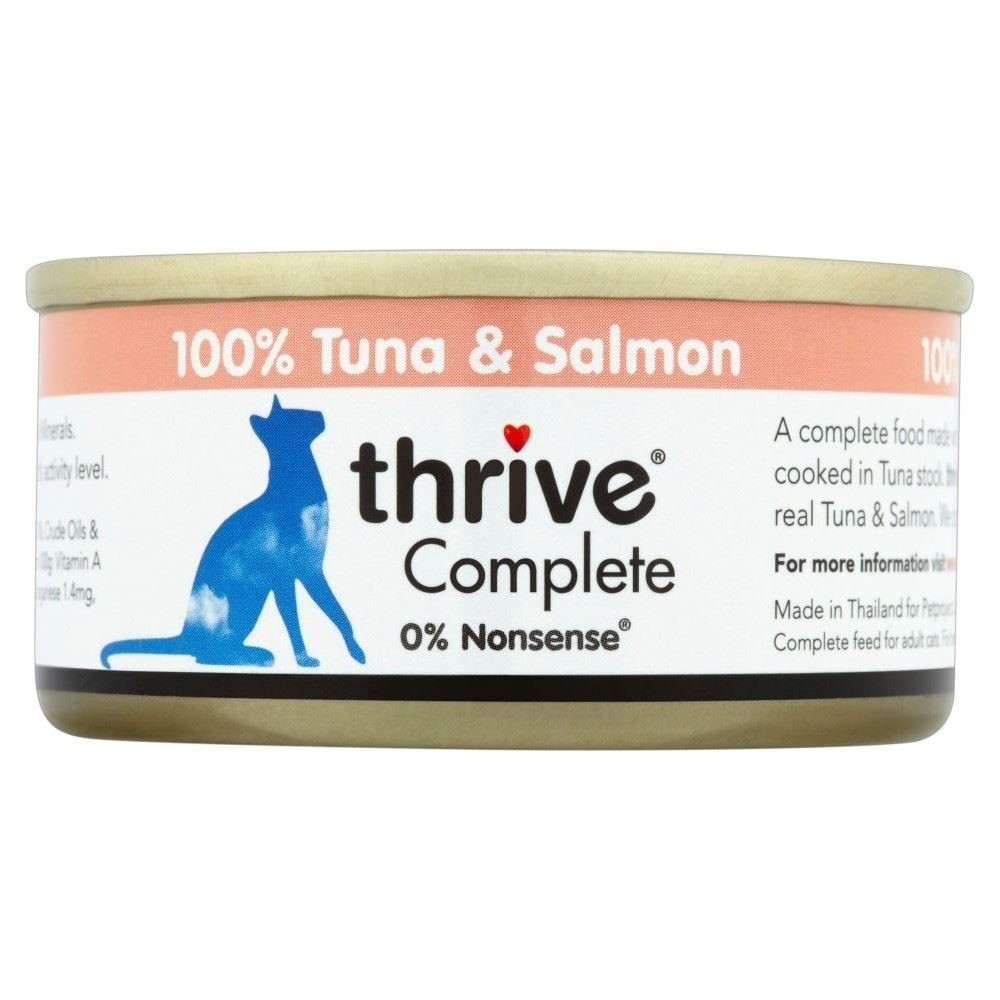 Thrive Complete Tuna  Salmon (75g) - Pack of 6