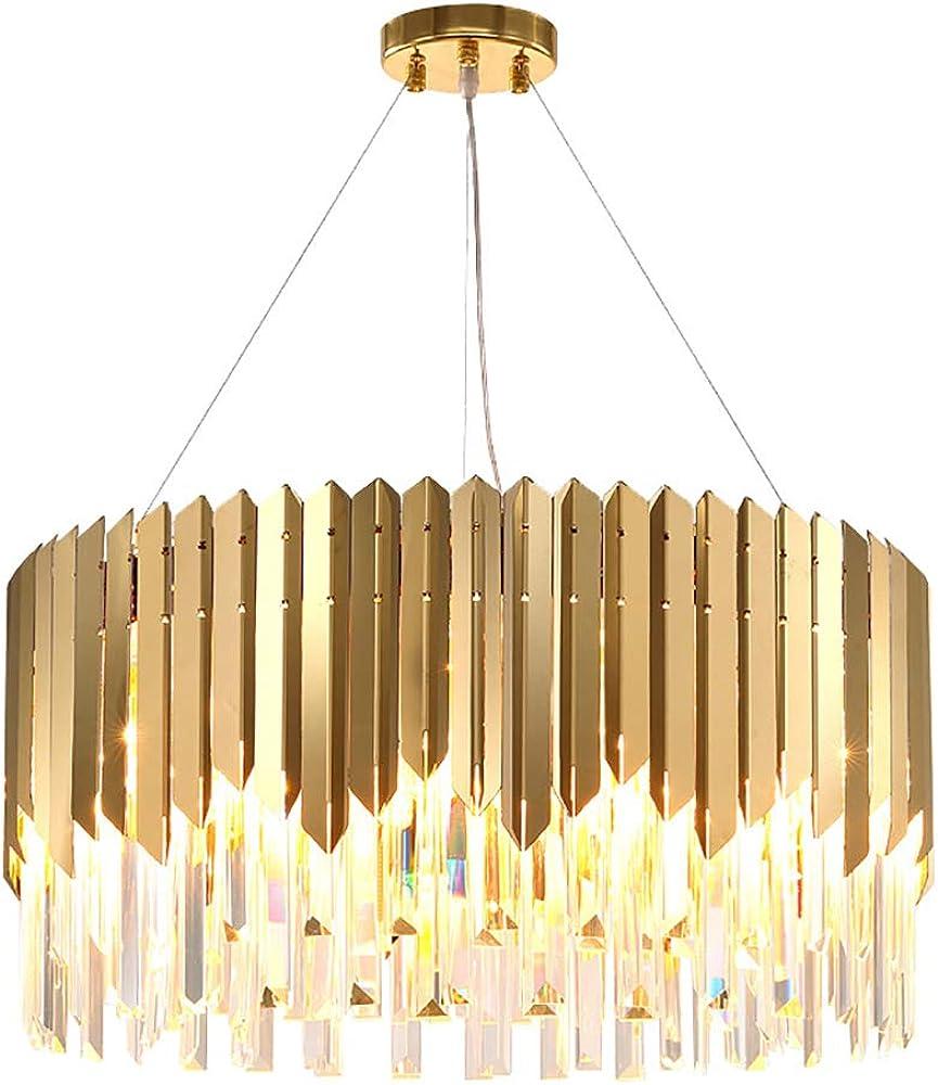 Hhrong lucek9 lampadario in cristallo di cristallo lampada a sospensione lampadario HHRONG002253