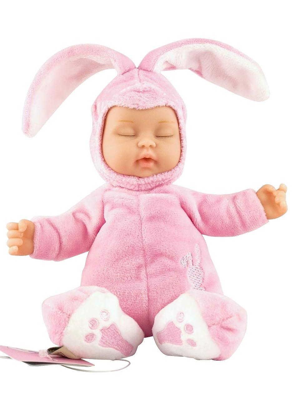 微弱災難ノイズXIANCHUAN 子供に適したかわいいぬいぐるみリアルな人形大きなウサギシミュレーション睡眠人形のおもちゃ (Color : Pink)