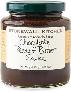 Stonewall Kitchen Chocolate Peanut Butter Sauce, 12.25 Ounces