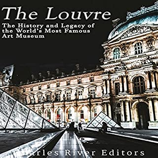 The Louvre audiobook cover art