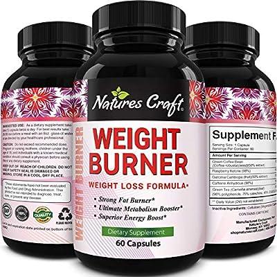 Pure & Natural Raspberry Ketones + Green Tea + Green Coffee Bean Extract + Garcinia Cambogia Supplement For Men & Women - Potent Weight Loss Pills - Appetite Suppressant - Fat Burner - Tevare