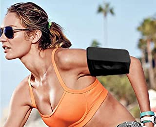 iFunLong Cell Phone Armband Sleeve Running Sports Arm Band Strap Holder Pouch Case for Exercise Workout Fits iPhone 11 pro MAX X XR XS 8 7 6 6S Samsung Galaxy S10 S9 S8 S7 S6 A8