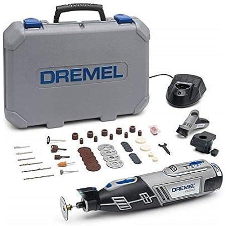 DREMEL F0138220JH - Miniherramienta a batería DREMEL 8220 JH Batería Litio 12 V - 2,0 Ah.Velocidad var:5.000-33.000 rpm.Punta EZ TWIST.45 Accs(incluye SpeedClic)2 Compl.Cargador 1 h.LUZ LED.Maletín