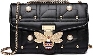 Beatfull Bee Shoulder Bag for Women, Elegant Handbag Crossbody Bag with Pearl