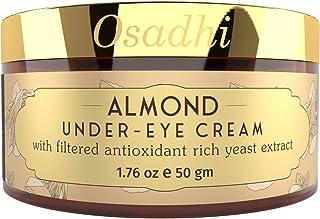 OSADHI Vegan Under Eye Cream for Anti Dark Circle & Wrinkles With Yeast Extract, 50 G