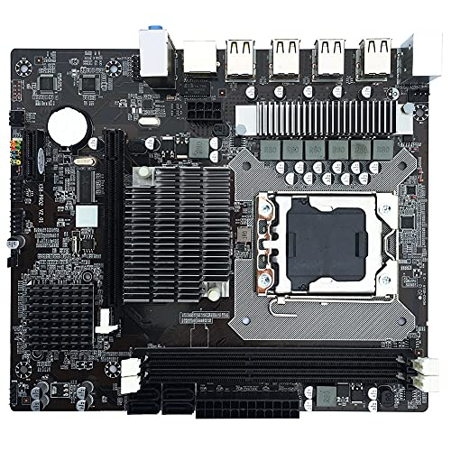 Zhiping X58 Desktop Computer Motherboard Mainboard LGA 1366 Socket DDR3 ranura de memoria para juegos