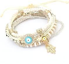 RagBear Evil Eye Glass Bead Bracelet Jewelry Meaning Hematite Bracelets