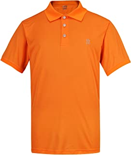 Lesmart Men's Golf Polo Shirts Dry Fit Short Sleeve Performance Lightweight Athletic Sport T-Shirt Tops