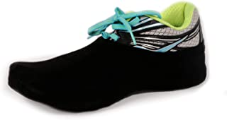 PS Athletic Shoe Covers for Dancing (1 pair, 2 Socks), Socks Over Shoes, Overshoes for Sneakers, Smooth Pivots & Turns