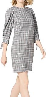 فستان حريمي قصير الأكمام من Jessica Howard مع أساور مربوطة